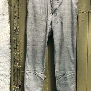 """H&M men's dress pants skinny fit 36"""" inseam"""